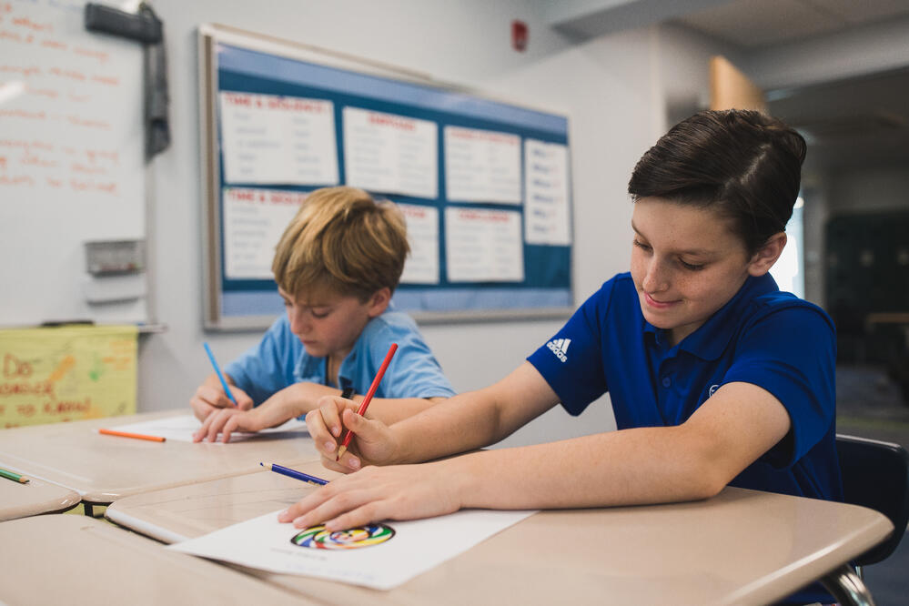 middle-school-students-writing