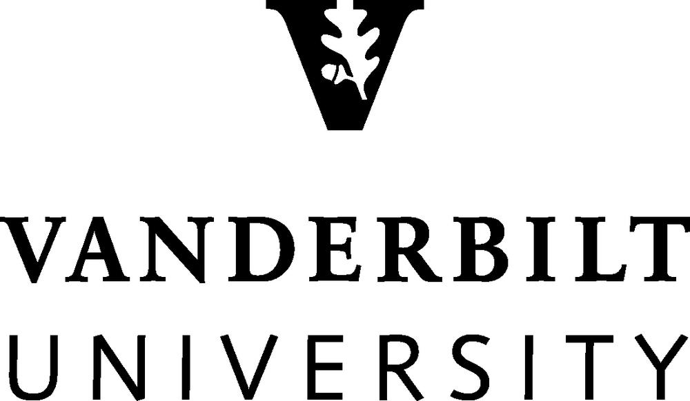 Vanderbilt University Logo Black